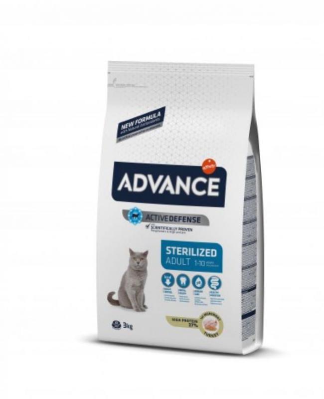 Advance adult sterilised pavo 400gr