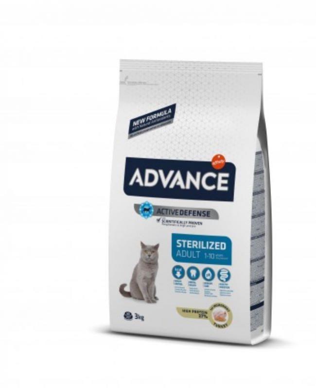 Advance adult sterilised pavo 3kg