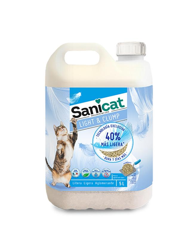 Sanicat light 5 l.