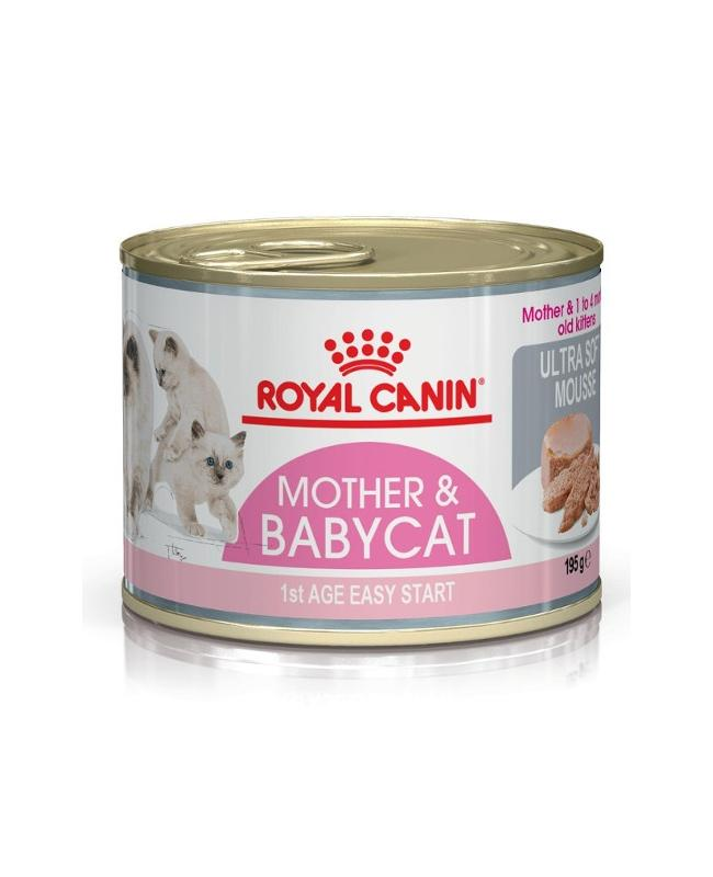 Royal Canin Babycat pate gatitos menos 4 meses 195gr.