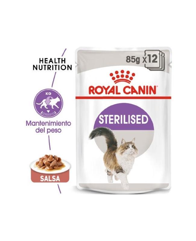 Royal canin Sterilised salsa 85gr.