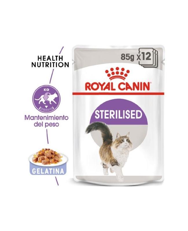 Royal canin Sterilised gelatina 85gr.