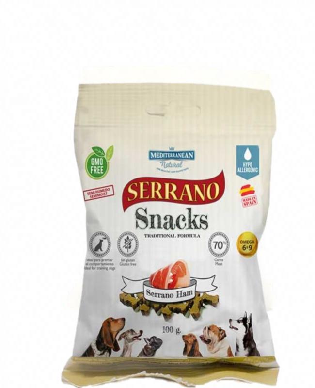Snack  Jamón Serrano 100gr