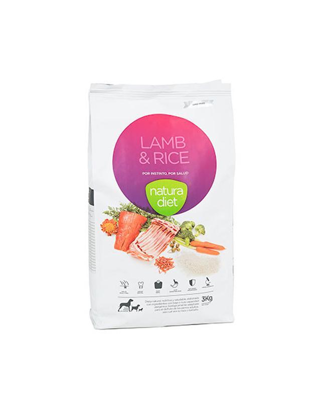 Natura diet Lamb-rice 12kg