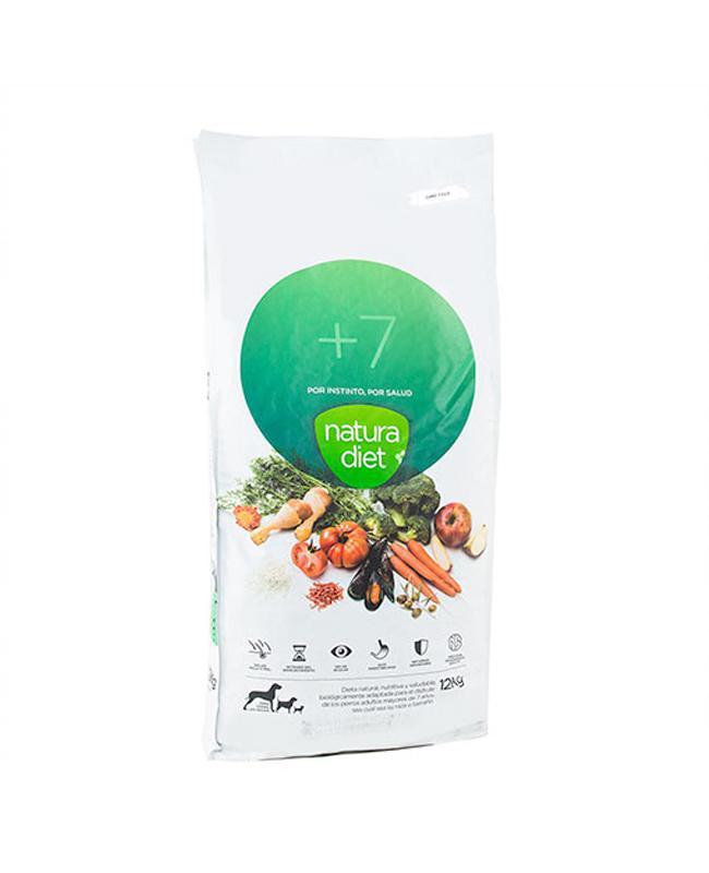 Natura diet +7 3kg (para perros mayores de 7 años)