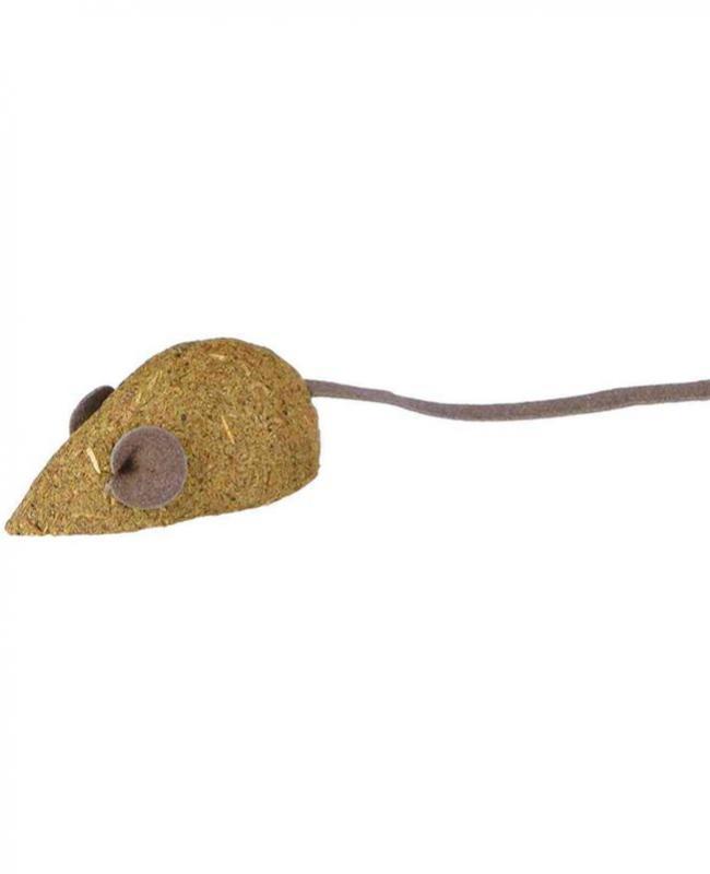 2 ratones catnip 5cm