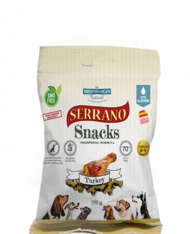 Snack Serrano Pavo 100gr