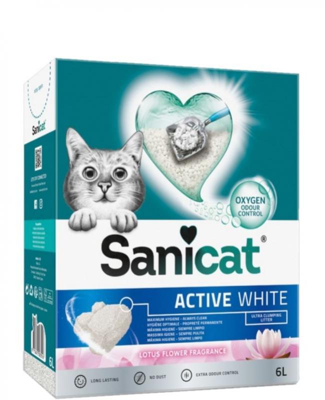 SANICAT ACTIVE FLOR DE LOTO 6L.