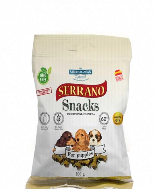 Snack Serrano Cachorro 100gr
